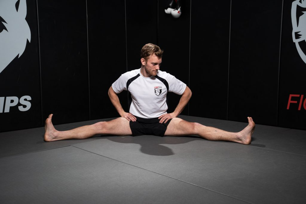 Side Split Stretch for hip mobility